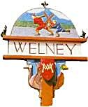 The old Welney sign